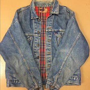 Oversized Levi denim jacket